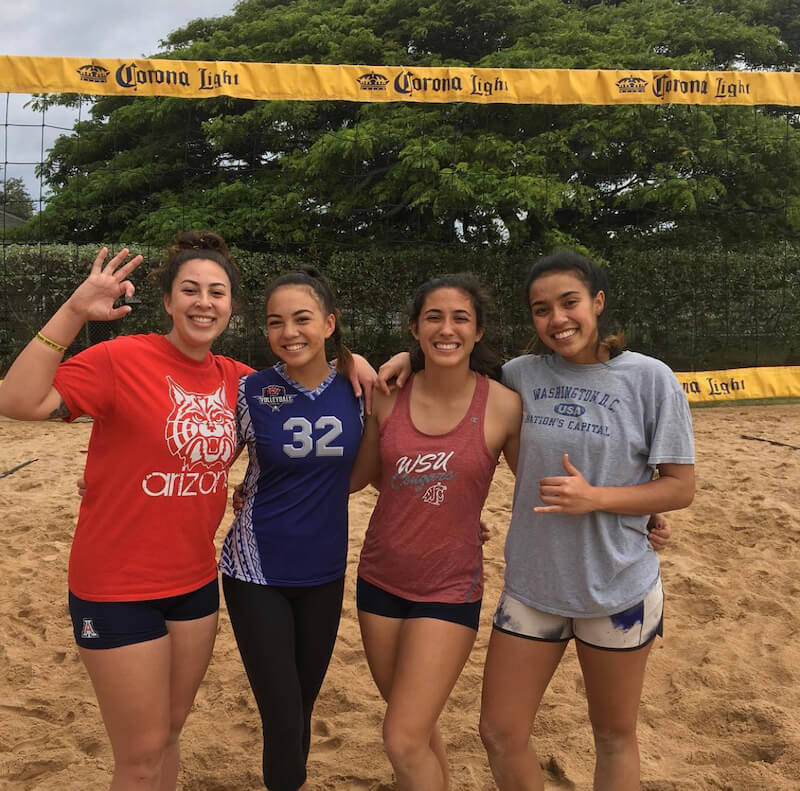 hunakai hawaii beach volleyball