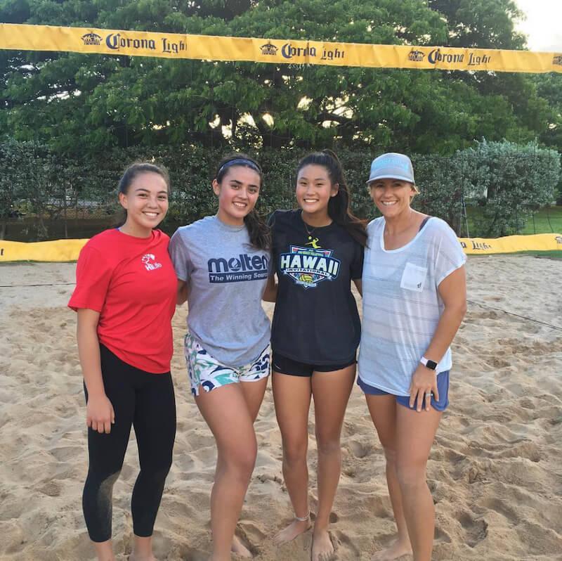 hunakai hawaii beach volleyball